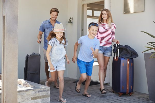 Family moving abroad
